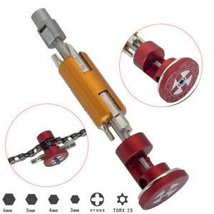 All In One Bike Multi Tools , Aluminum Bicycle Invisible Repair Tool Set