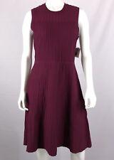 ANNE KLEIN MANZANITA Women's Sweater Dress Size M Sleeveless A-Line Magenta NWT