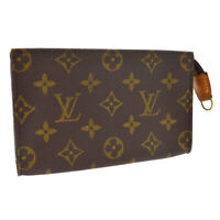 LOUIS VUITTON BUCKET PM PURSE ATTACHED POUCH PURSE MONOGRAM CANVAS A53421