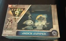 "New 1999 Xyber 9 New Dawn Jack's Jumper & Exclusive 4"" Jack Figure Ban Dai"