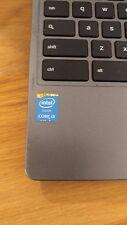 Acer c720-3404 Chromebook Intel Core i3, 1.7 GHz, 4 GB RAM, 32 GB Drive, Gray