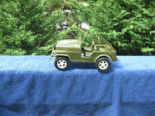 "Vintage Gay Toys Inc. US Army Jeep #650~Plastic 9"" Length~Made In USA"