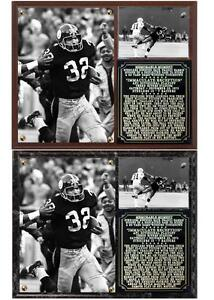 Immaculate Reception Franco Harris December 23, 1972 Steelers Photo Plaque