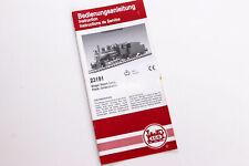 LGB Katalog Prospekt - LGB 23191 Mogul DampflokBedienungsanleitung Spur G