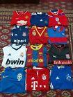 Football Shirt Bundle Job Lot X 12 All Childs Sizes