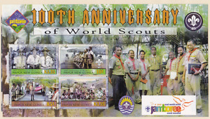 Palau - St.Kitts World Scout Jamboree  100 Years of Scouting  Lot M