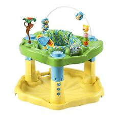 Evenflo Exersaucer Bounce Learn, Zoo Friends Baby Toddler Learning Activity New