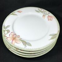 "4 Oneida Savannah Dinner Plates Select Collection Fine Porcelain 10.25"""