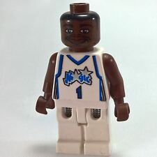 GBP NBA Tracy McGrady, Orlando Magic 1 (White Uniform) - LEGO Minifigure Sports