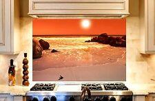 Printed Kitchen Glass Cooker Splashback / Lounge Photo 'Sunset3'  900x600mm