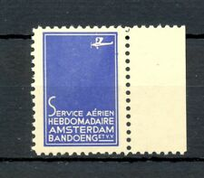 NETHERLANDS -DUTCH INDIES 1928 ca - AIRMAIL LABEL -AMSTERDAM-BANDUNG @2