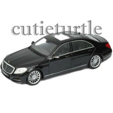Welly Mercedes Benz S Class 1:24 Diecast Model Toy Car 24051 Black