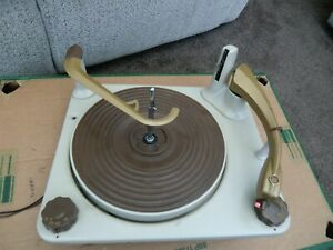 BSR  turntable  vintage 60s from a pye black box