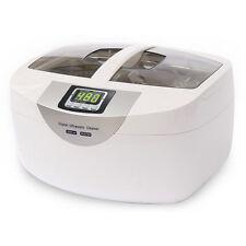 Digital 2.5L Ultrasonic Cleaner Watch Bottle Kitchen Ware Tank Bath w/Timed New