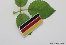 D300 Deutsch Flagge auto aufkleber top 3D Emblem Badge Plakette car Sticker