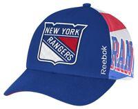 New York Rangers Cap NHL Eishockey Reebok Kappe Cap Snapback One Size