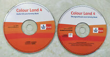 2 Audio-CD: Colour Land 4 Audio-CD+Übungssoftware zum Activity Book Klett Grunds