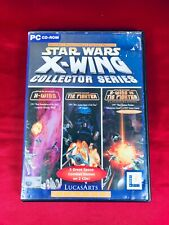 Star Wars X-WING Collector Series Pc Cd Rom Inc X-Wing + Vs Tie Fighter 3 games