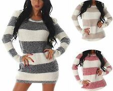 Lange Damen-Pullover aus Acryl-Mischung
