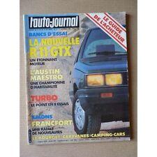 Auto-Journal n°17-83, Renault 11 GTX, Austin Maestro 1300 HL. Lancia Delta, Mits