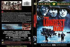 The Longest Day ~ New DVD ~ John Wayne, Henry Fonda (1962)