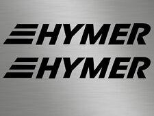 Small Hymer Vinyl Badge Lettering Vinyl Stickers Decals Camper Motorhome Caravan