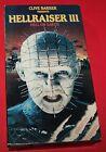 Vintage 1993 Hellraiser III: Hell on Earth VHS Video Cassette
