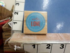 with love saying rubber stamp 36d