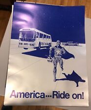 Denver The Ride Rtd American Ride On Poster 18x25