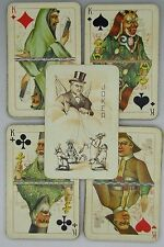 VINTAGE RUSSIAN N-702 ANTI-RELIGIONS PLAYING CARDS PROPAGANDA ANTIQUE CARD DECK