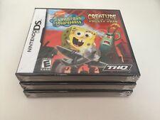 SpongeBob SquarePants: Creature from the Krusty Krab (Nintendo DS, 2006) DS NEW