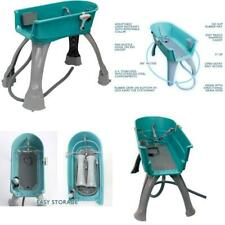 Elevated Dog Bath Booster Pet Bathing Grooming Center Groom Station Large Wash