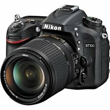 Nikon D7100 Camera Bundle with 18-140mm and 55-300mm VR NIKKOR Zoom Lens (Black)