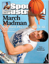 Sports Illustrated 2008 North Carolina Tar Heel Tyler Hansbrough Newstand Issue