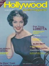 NOV 1981 HOLLYWOOD STUDIO vintage movie magazine - LORETTA YOUNG