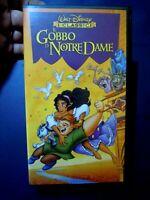 IL GOBBO DI NOTRE DAME  VHS - I Classici Disney Videocassetta