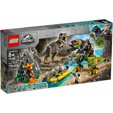 LEGO Jurassic World Battaglia tra T. Rex e Dino-Mech (75938)