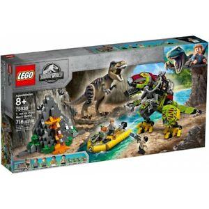 LEGO 75938 JURASSIC WORLD BATTAGLIA TRA T. REX E DINO-MECH ISOLA NUBLAR GIU 2019