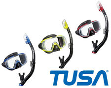 TUSA Adult Visio Tri-Ex Mask/Snorkel Set