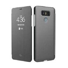Fundas con tapa color principal plata de plástico para teléfonos móviles y PDAs