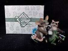 "Charming Tails "" Friends Are The Family We Choose "" With Box"