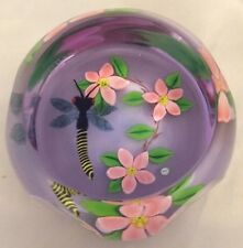 Caithness Dragonfly and Water Lilies by William Manson Ltd Ed NIB w/ COA