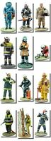 Model Firemen Figures from around the world , 1/32 -  7cm tall Part 2 (67-125)