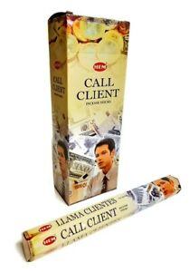 HEM Call Client Incense 120 Sticks in a Six Pack.
