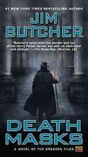 Dresden Files #5: Death Masks by Jim Butcher (2003, Mass Market Paperback)