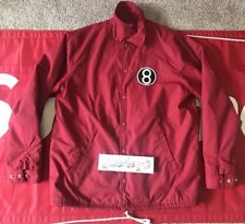 SUPREME 8 BALL COACHES JACKET BURGUNDY SIZE MEDIUM TNF Cdg DS Fw12