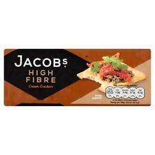 Jacobs High Fibre Cream Crackers 200G X 2