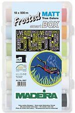 Madeira Frosted Matt 18-500M Spool Smartbox