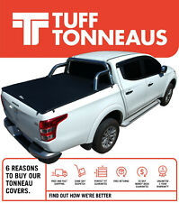 Tuff 'No Drill' ClipOn 2.0 Tonneau Cover For Mitsubishi MQ / MR Triton Dual Cab