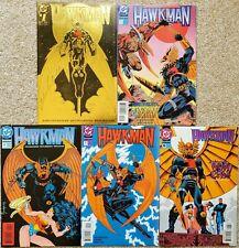HAWKMAN # 1, 3-6 (1993 series); John Ostrander, Jan Duursema, Wonder Woman
